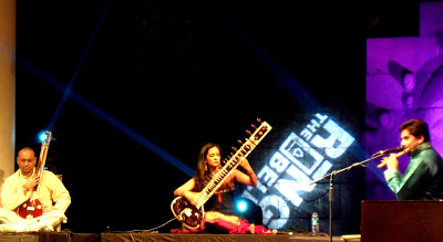Anoushka Shankar performing